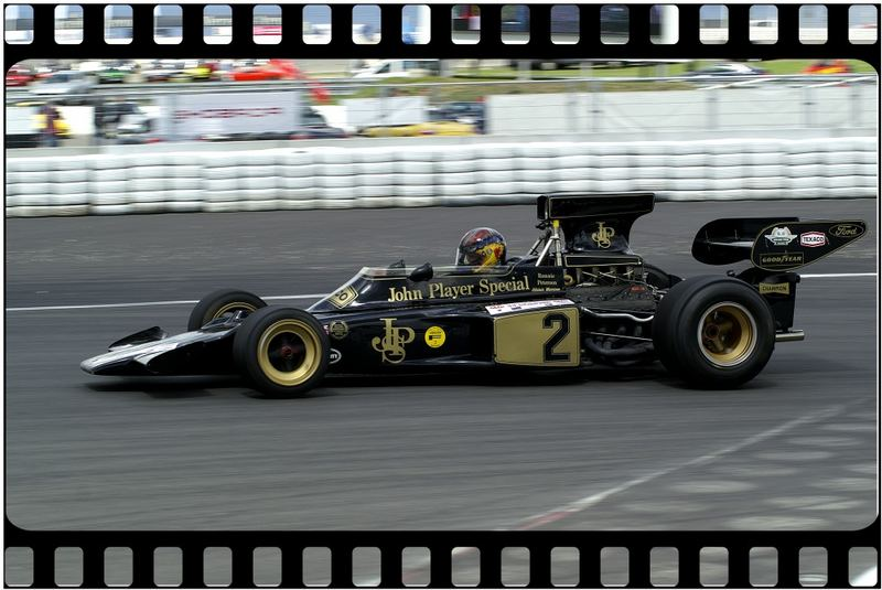 Alistair Morrison in einem Lotus 72-Ford von 1971