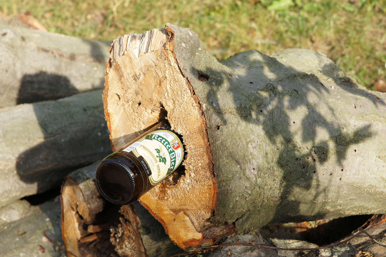 Alkohol kranker Baum