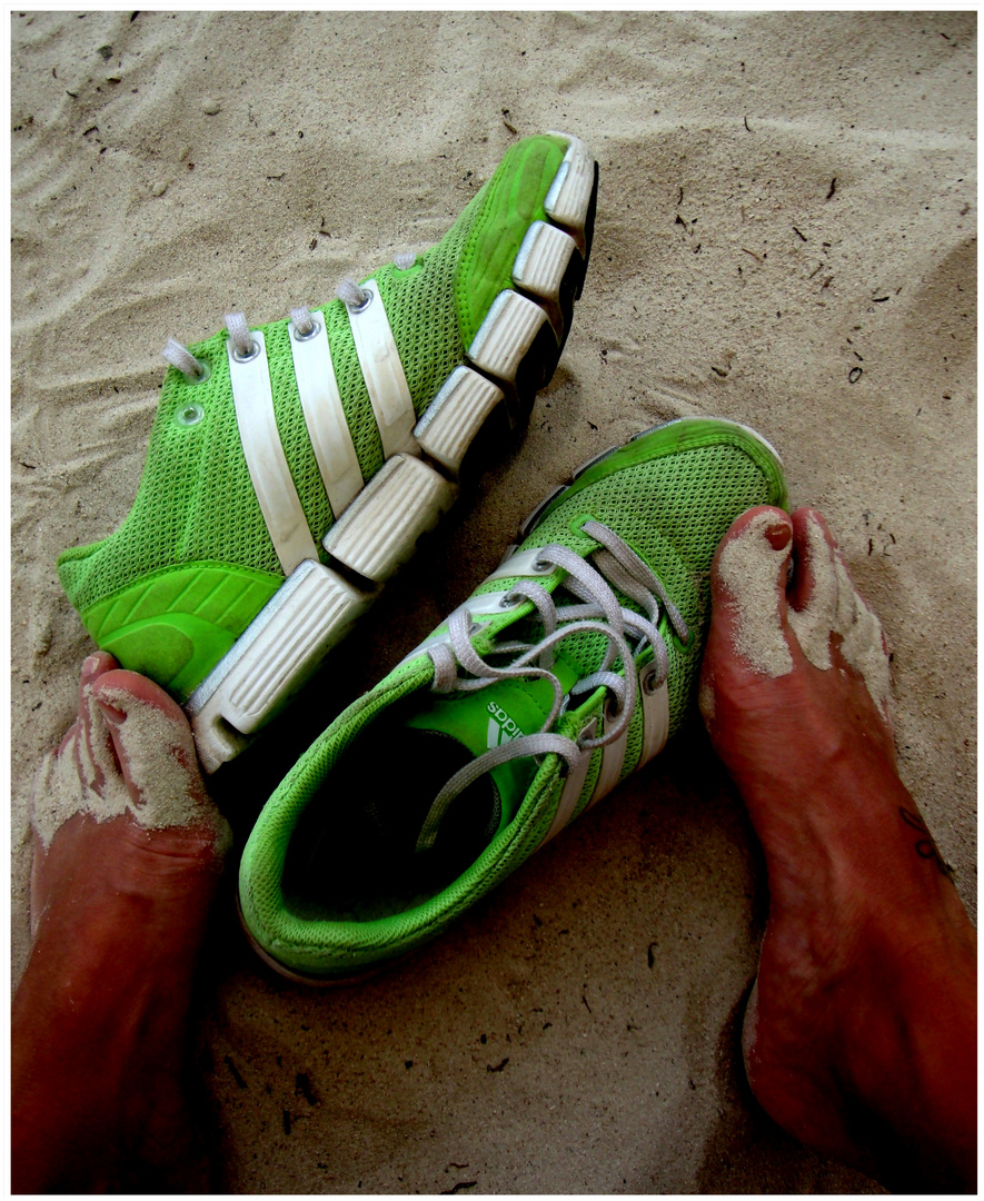 all i like - my adidas - warmer sand - haut