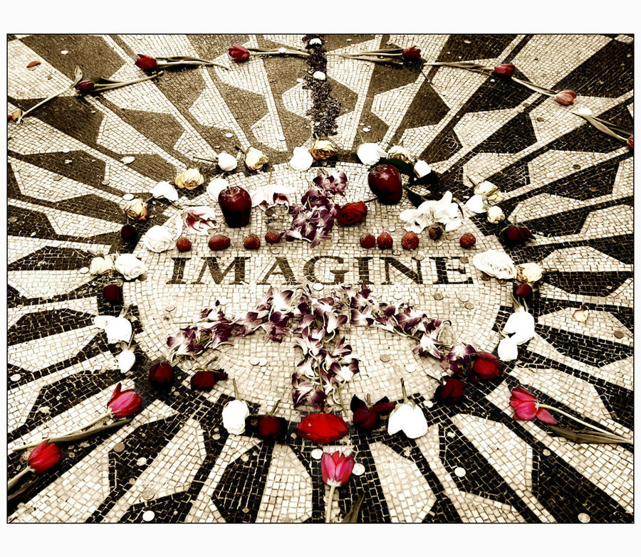 ...all the people, living life in peace...