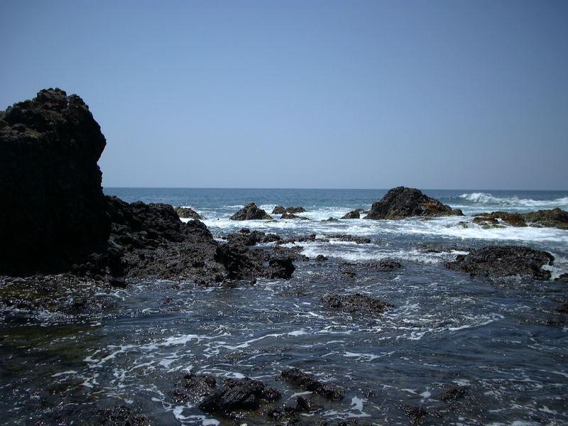 Allá en el mar
