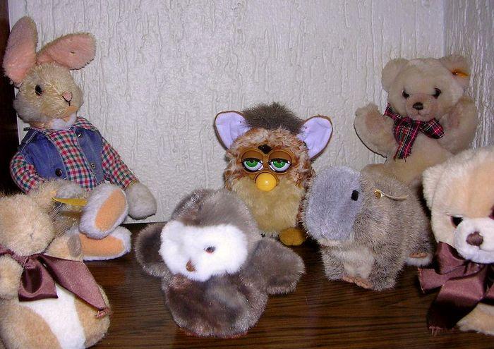 Alle meine Steiff-Tiere