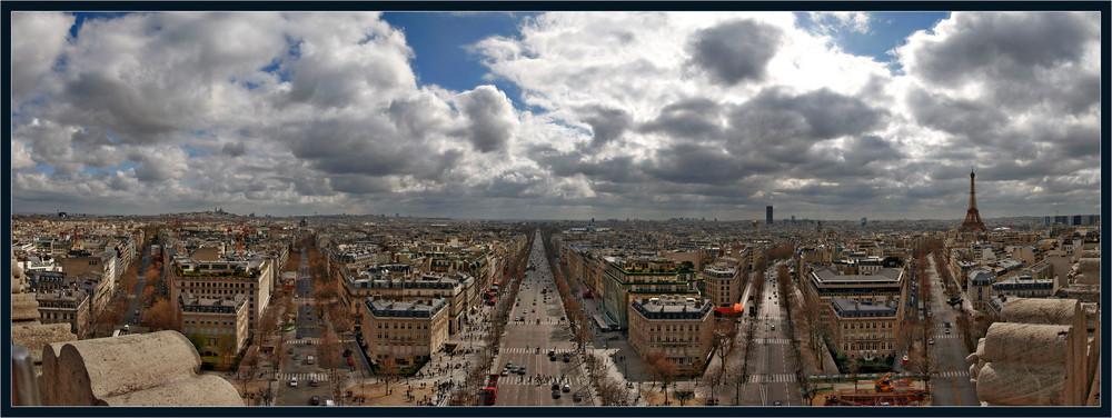 Alle Wege führen nach Paris...