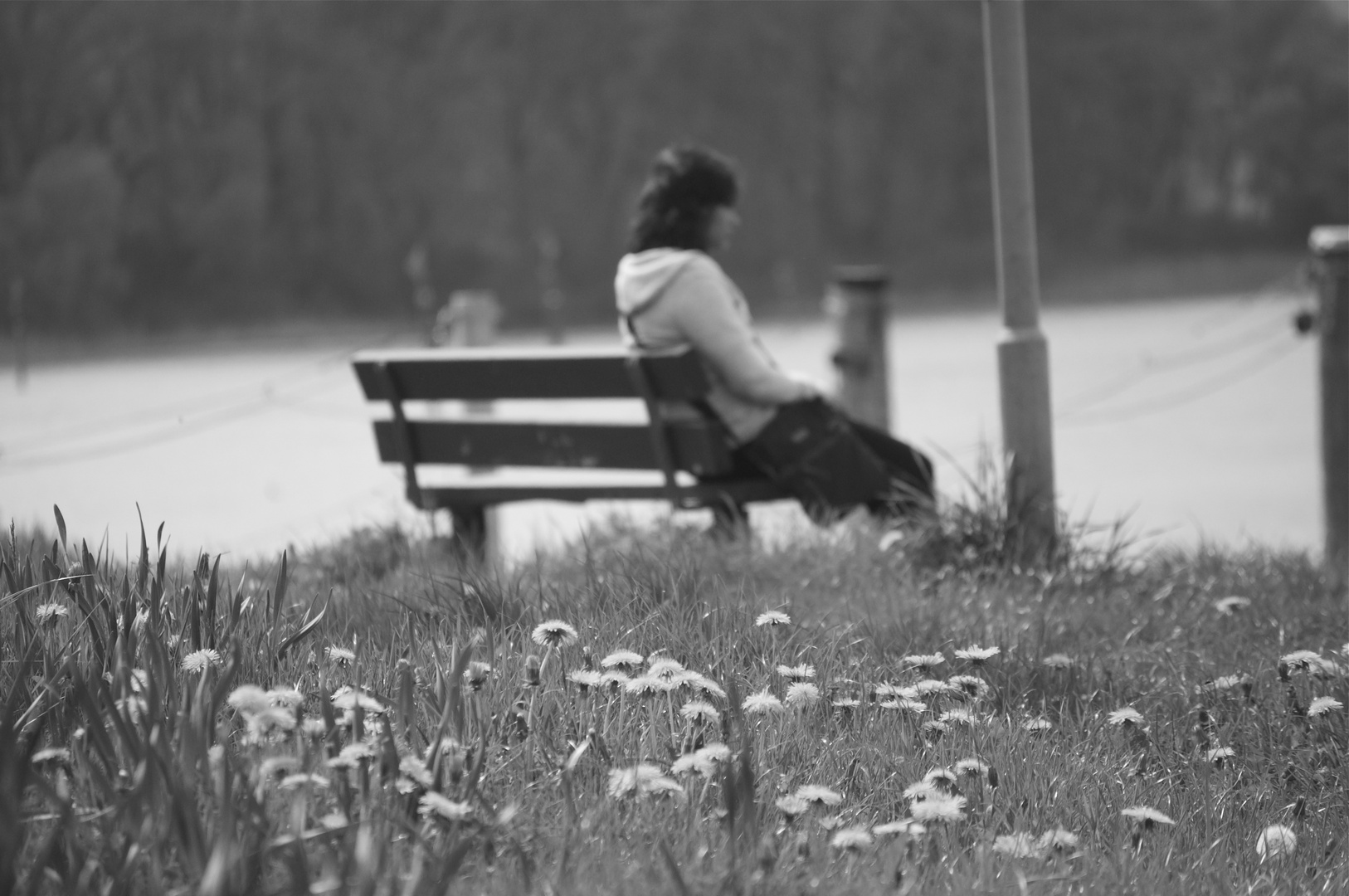 allein..