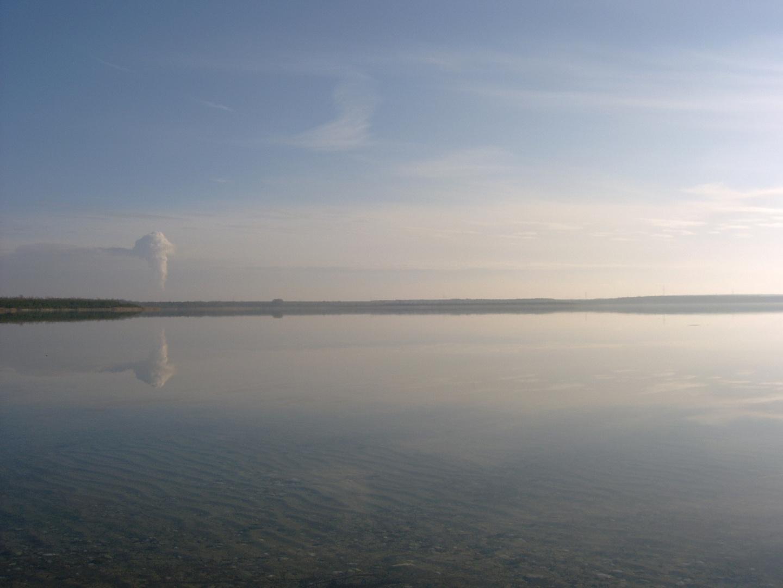 allein am Gräbendorfer See