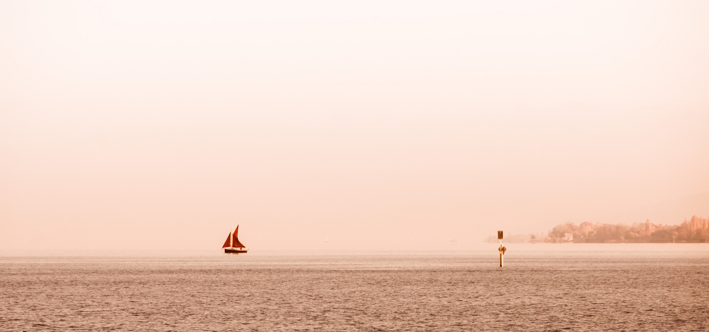 Allein auf dem See, zum 2.