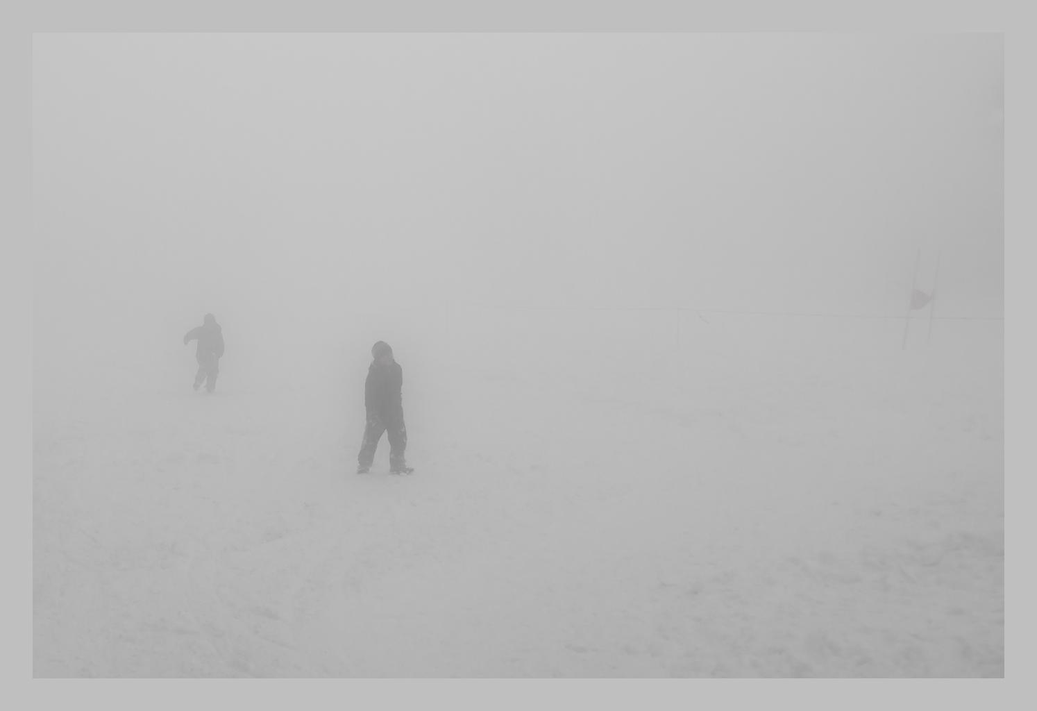 Allein im Nebel.........
