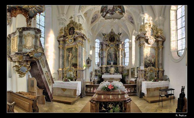 ... allein in der Kirche
