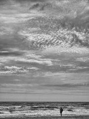 alleine am strand ...