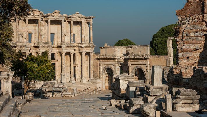 Alleine in Ephesos