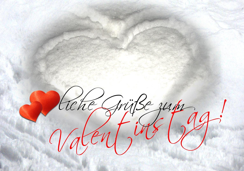 Allen einen glücklichen, verliebten Valentinstag!