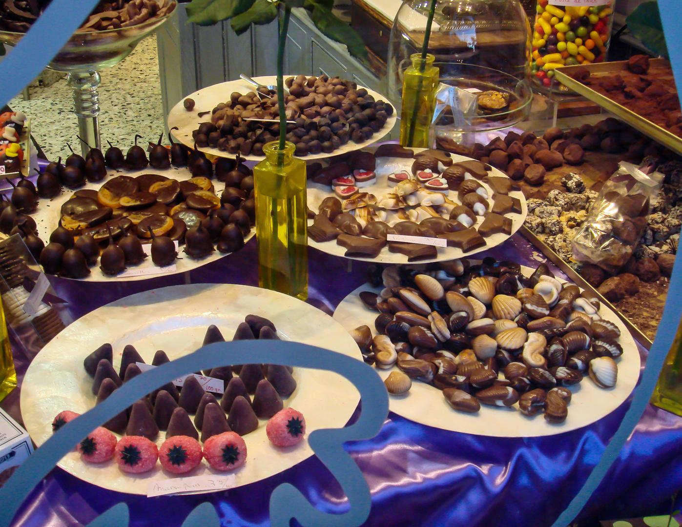 Allen Schleckermäulchen ein schönes Wochenende - Chocolaterie/Brügge