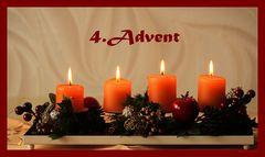 Allen Usern einen schönen 4. Advent
