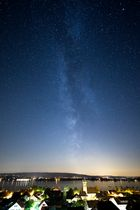 Allensbach mit Milchstraße