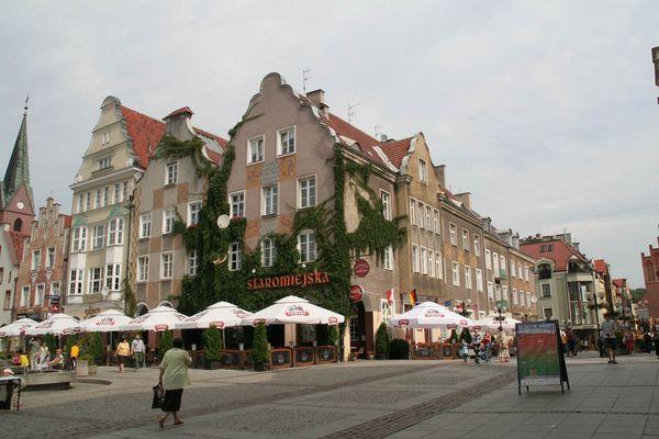 Allenstein, die Altstadt