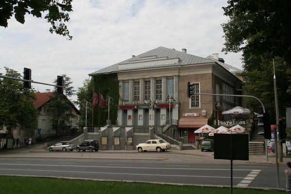 Allenstein (Olsztyn) Treudank - Theater