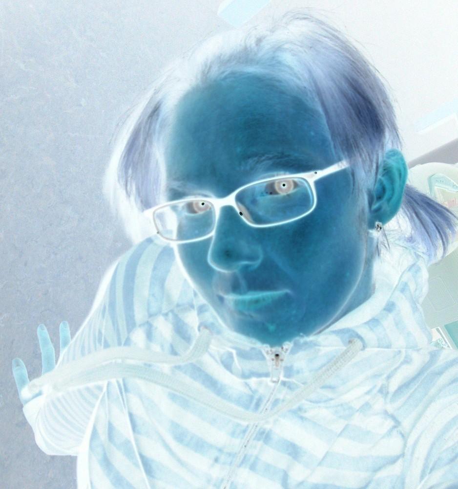... alles blau ...