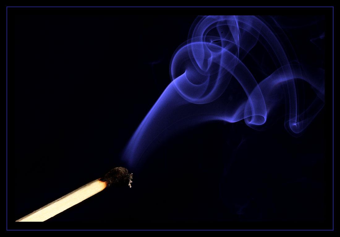 Alles ging in Rauch auf...