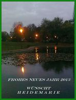 Alles Gute zum Neuen Jahr 2013