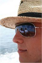 """""""Alles im Blick"""" :-) Spontaner Schnapschuss auf hoher See :-)"""