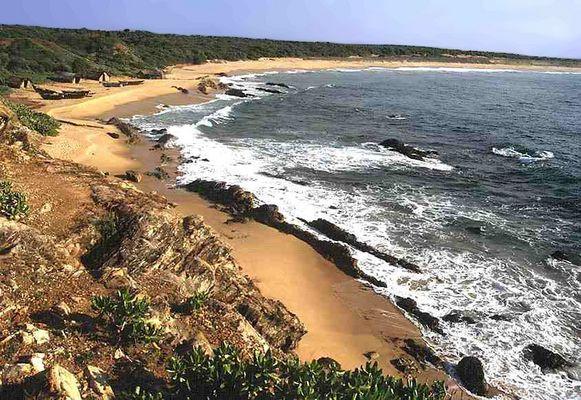 Alles noch ruhig - Südküste von SRILANKA