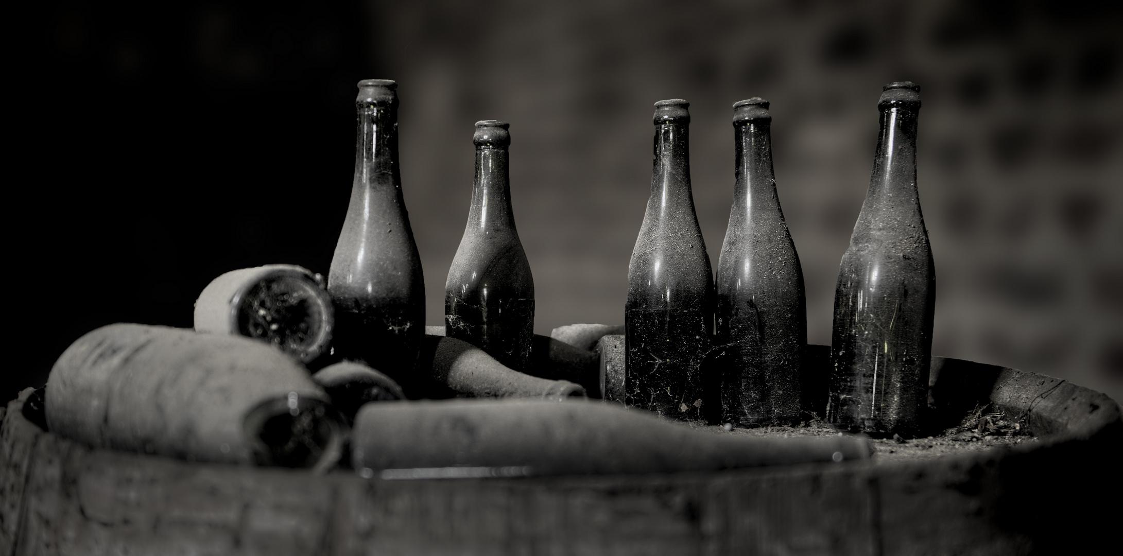 Alles nur Flaschen ......