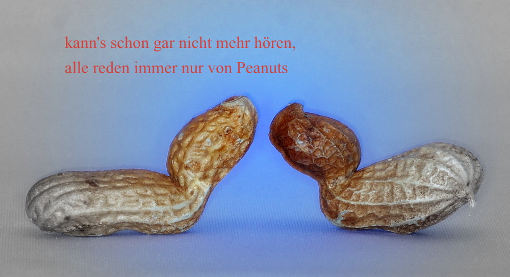 alles Peanuts oder was ?