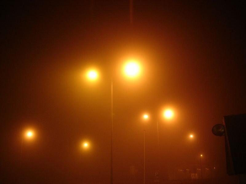 Alles versinkt im dichten Nebel