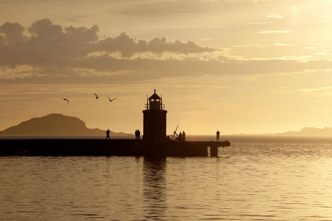 allesund norvegia tramonto