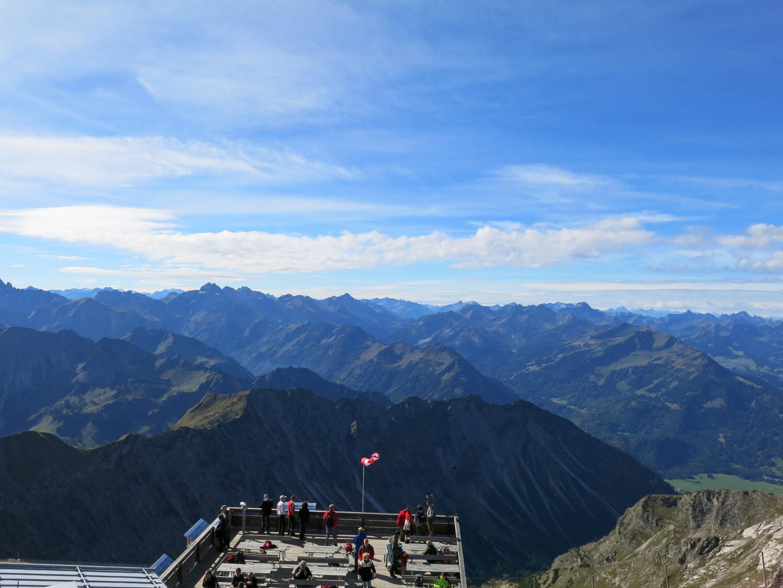 Allgäuer Alpen vom Nebelhorn