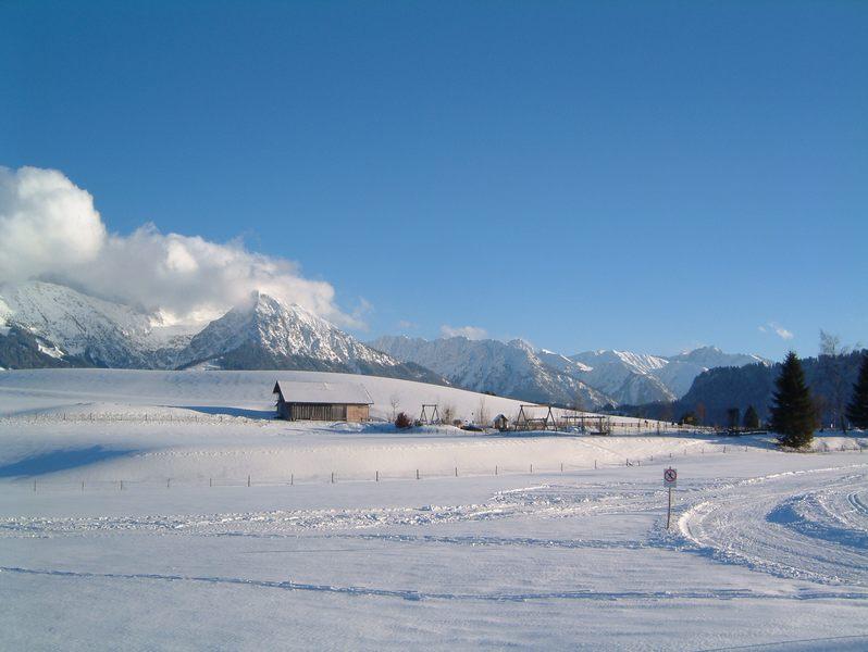 Allgäuer Berge im Schnee 2