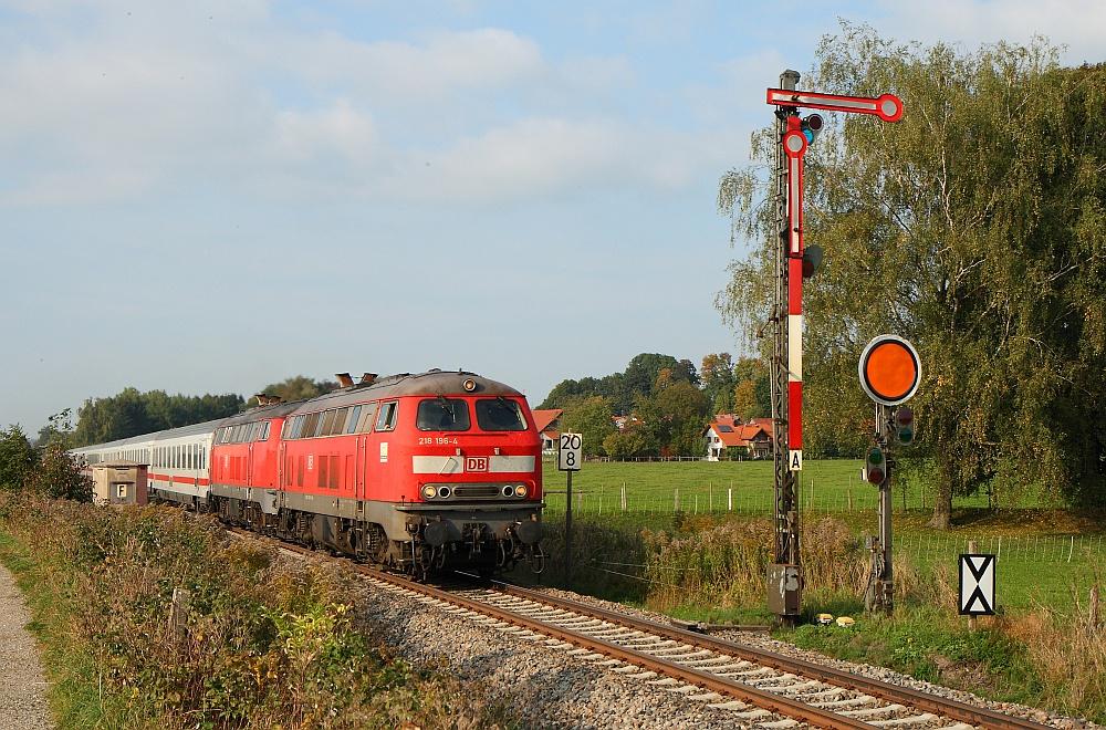Allgäufernverkehr mit Formsignalen September 2009 (IV)