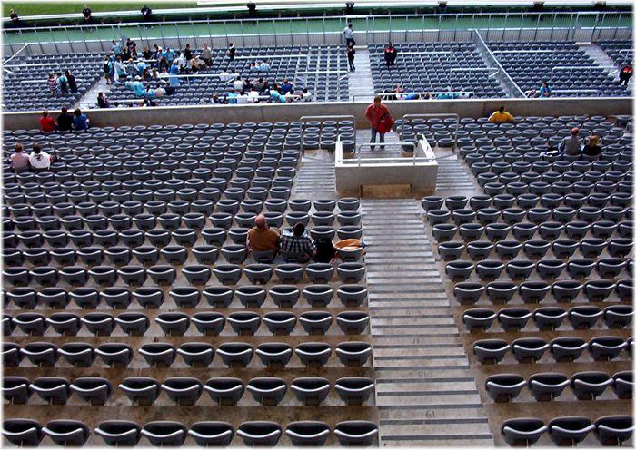 Allianz Arena - da gehts runter