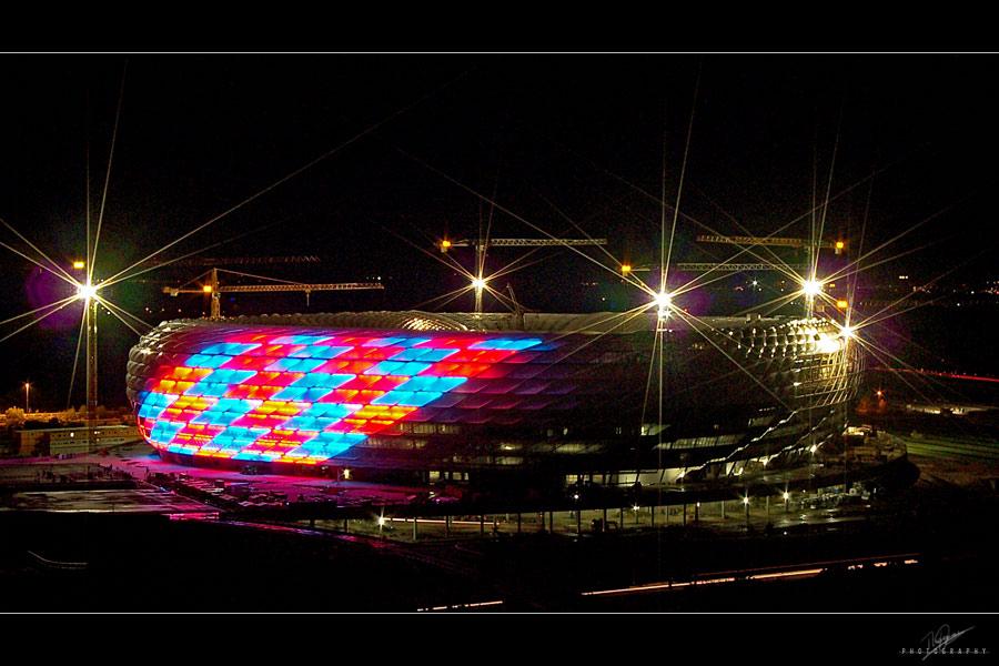 Allianz-Arena die zweite