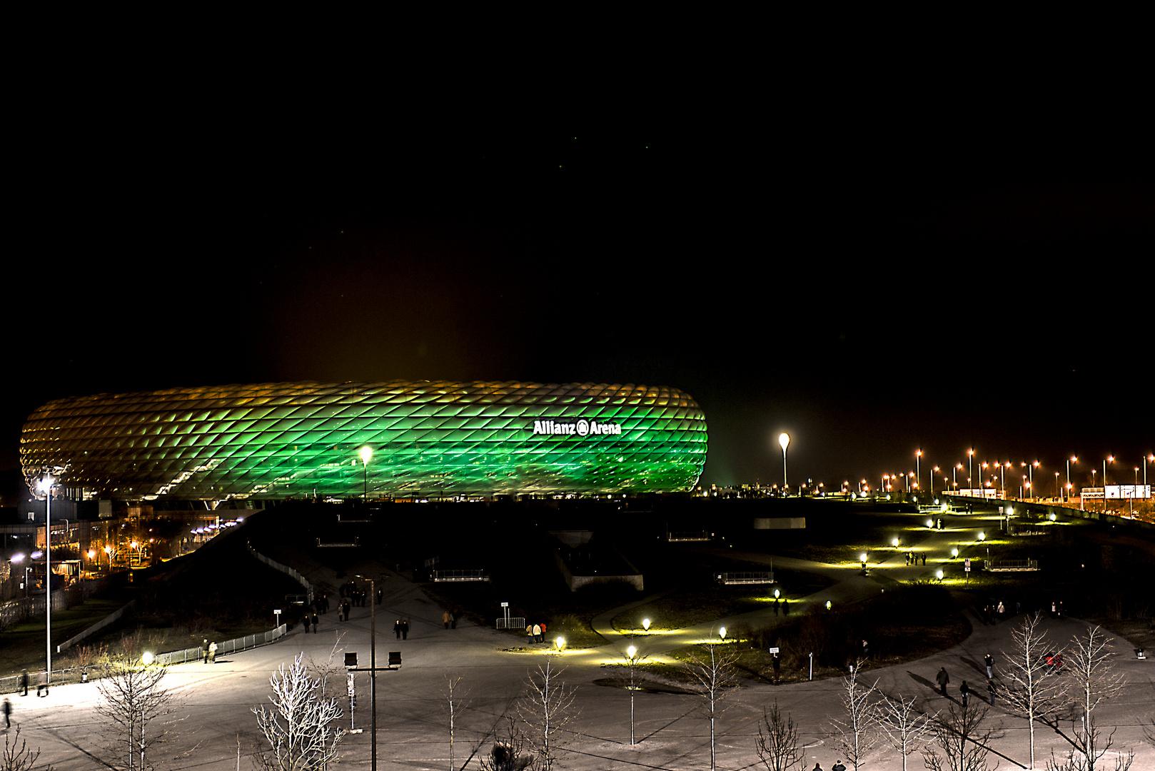Allianz Arena grün 1