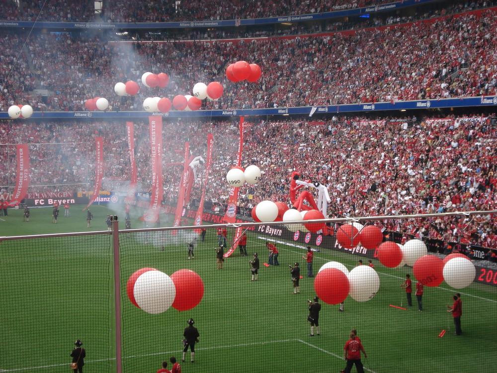 Allianz Arena Meisterfeier 3