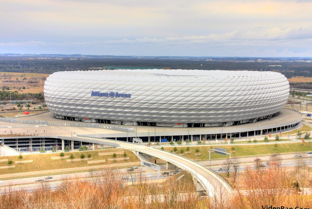 Allianz Arena (Stadion) Munich HDR