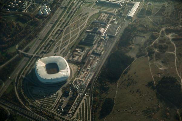 Allianz Arena von ganz oben