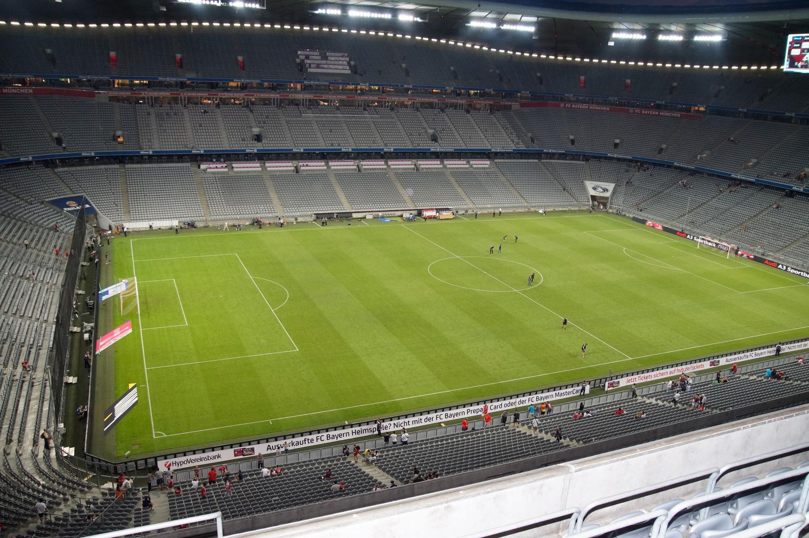 Allianz Arena von Innen