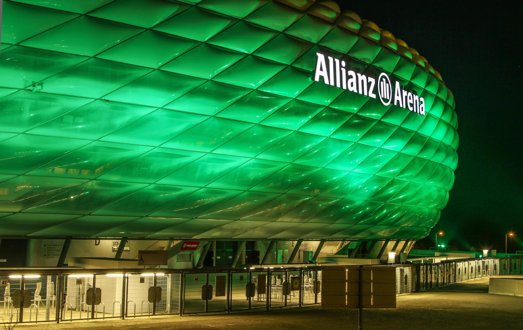 Allianz Arena (zum St. Patricks Day 2013)