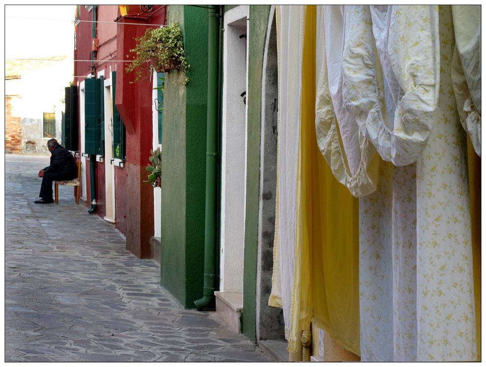 Alltag in Burano