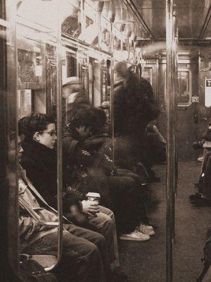 Alltag in der New York Subway