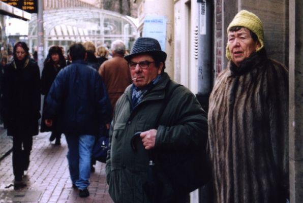 Alltag in Düsseldorf, oder die Rückkehr der Ohrenmütze