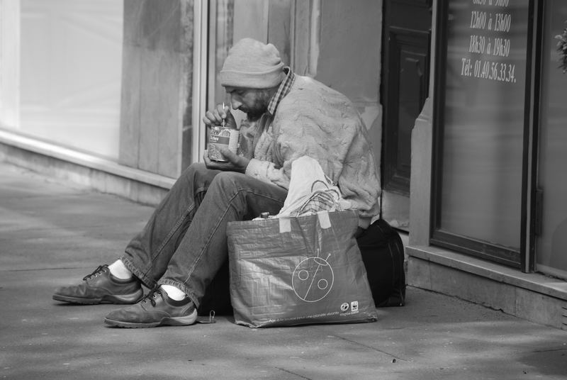 Alltag in Pariser Straßen