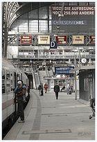 Alltagsszene Hamburg Hauptbahnhof