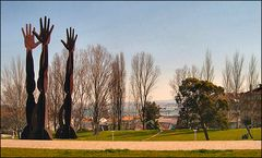 Almada city garden