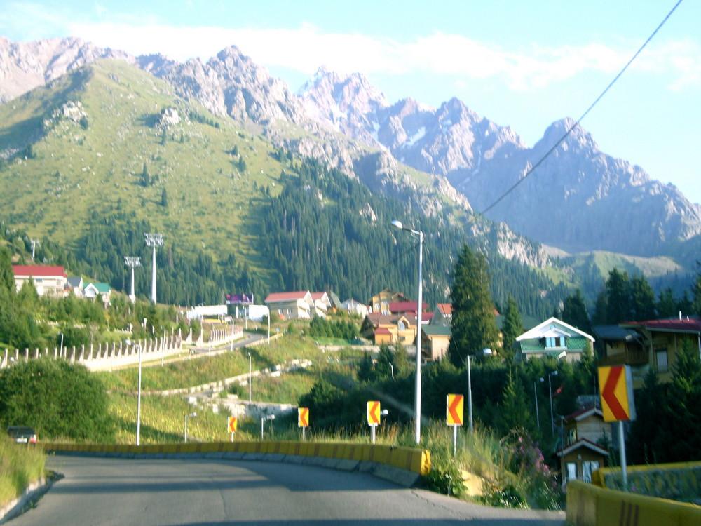 Almaty Berge