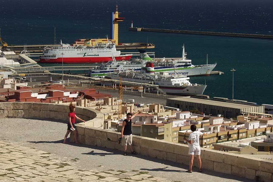 Almería von der Alcazaba