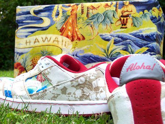 Aloha sneakers!