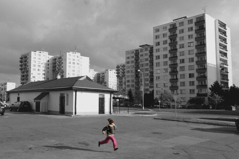 Alone among blocks